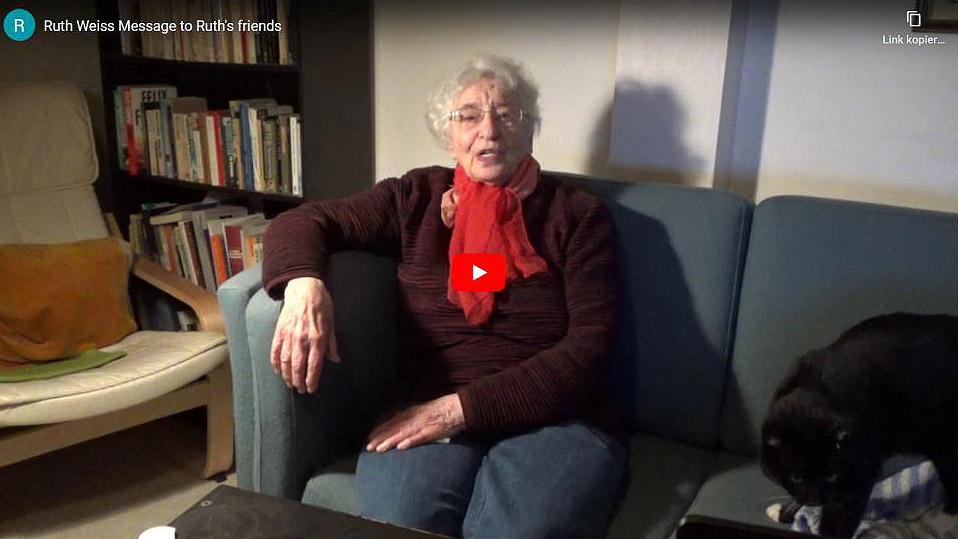 Ruth Weiss – Lebenslanges Wirken gegen den Rassismus