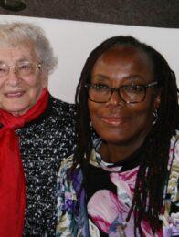 Zitzi Dangarembga mit Ruth Weiss in Berlin 2019