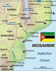 Terrorgefahr - Wie friedlich wird das Neue Jahr für Mosambik?
