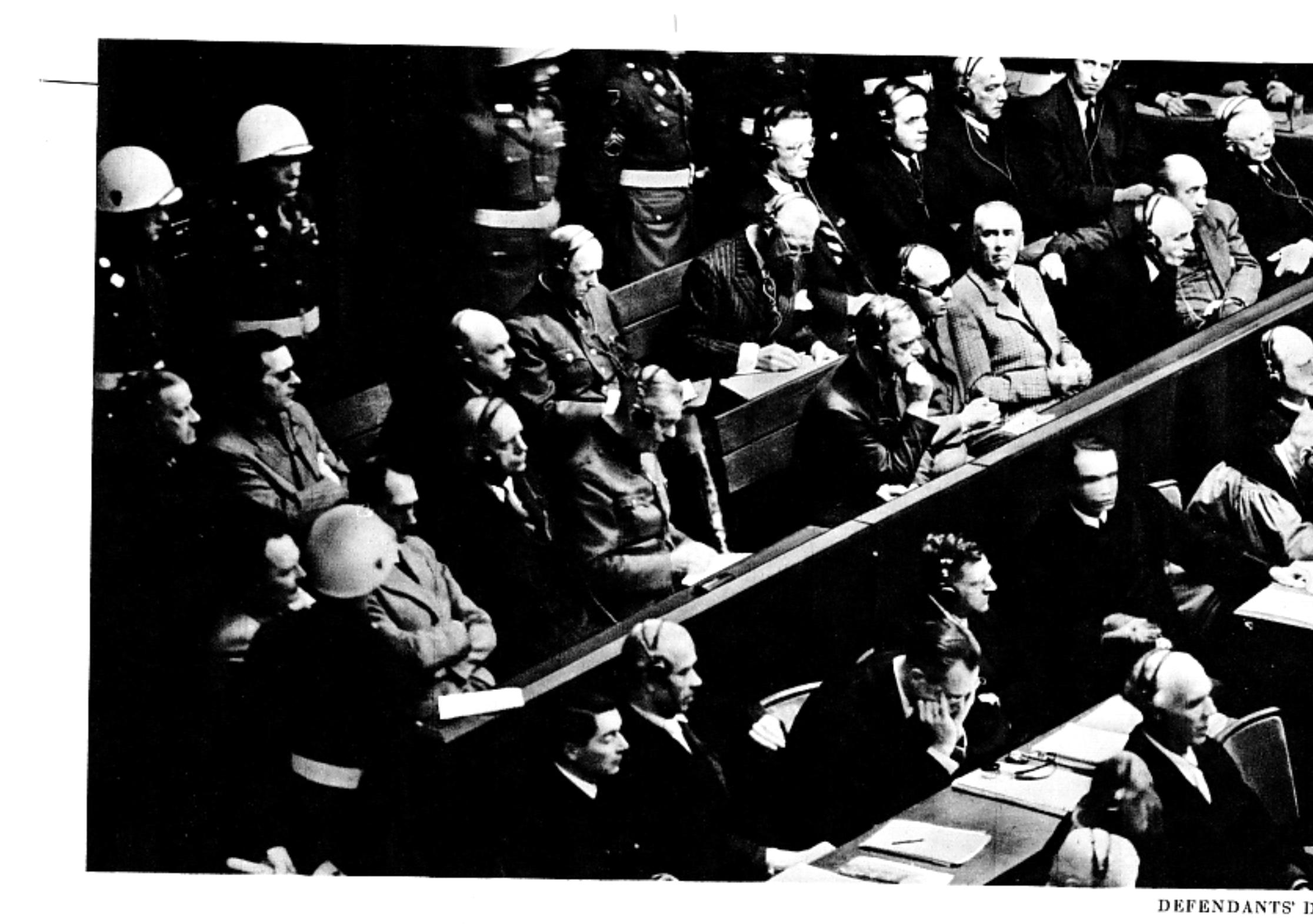 Erinnerung und Faktencheck: Die Nürnberger Prozesse