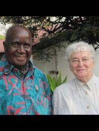 Kenneth Kaunda und Ruth Weiss